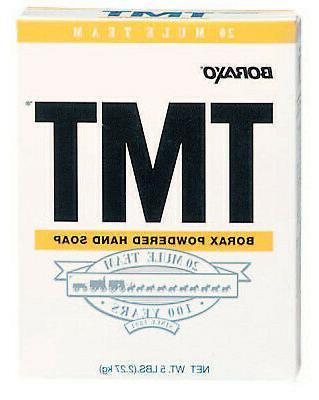 tmt powdered hand soap box
