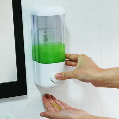 Liquid Soap Dispenser Wall Mounted Bathroom Hand Sanitizer S