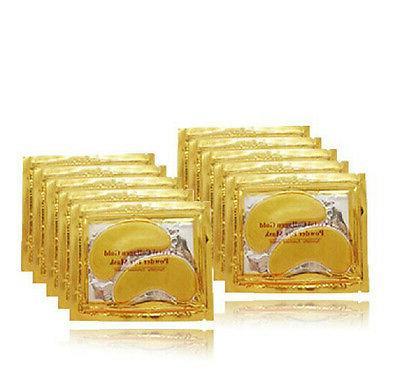 xb238 gold crystal collagen eye mask hotsale