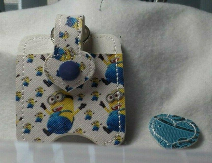 yellow minion friend hand sanitizer holder free