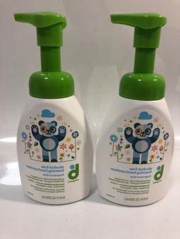 Lot Of 2 Babyganics Alcohol Free Foaming Hand Sanitizer 8.45