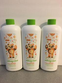 Lot of 3- BabyGanics Alcohol-Free  Foaming Hand Sanitizer  E