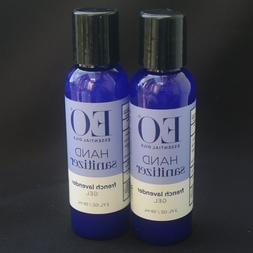 Lot of EO Hand Sanitizer Lavender 2 oz & Relax Roll-On Aroma
