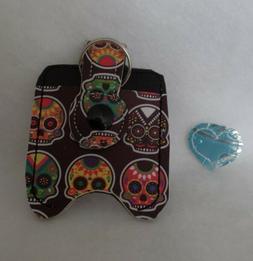 Sugar Skulls Hand Sanitizer HOLDER Free Shipping