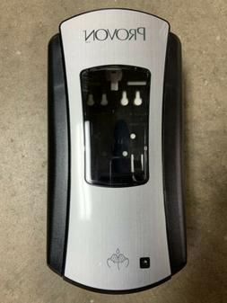 PROVON LTX-12 Dispenser, Black/Brushed Nickle