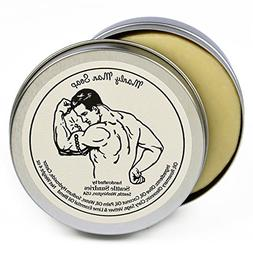 Manly Man Soap-100% Natural Skin Care Bar. Scented with Esse