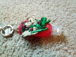 Disney Parks Mickey And Minnie On Sleigh Christmas Hand Sani