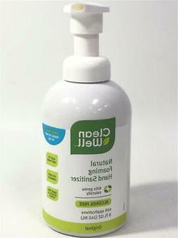 Clean Well Natural Foaming Hand Sanitizer