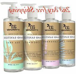 ArtNaturals Natural Hand Sanitiser Gel – 4 x 7.4 Fl oz / 2
