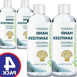 Natural Hand Sanitizer Gel Instant Advanced Kills 99% Germs