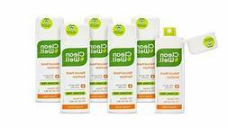CleanWell Natural Hand Sanitizer Spray, Orange Vanilla, Trav
