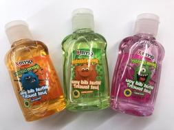 new 3 travel bottles of germ x