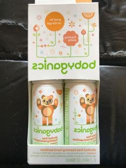 NEW Babyganics Alcohol-Free Foaming Hand Sanitizer Mandarin