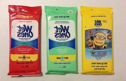 New Wet Ones Antibacterial Hand Wipes 20 Wipes Fresh Scent O
