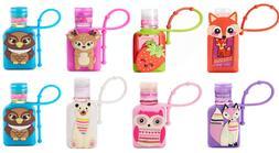 NEW Simple Pleasures Hand Sanitizer + Cute Holder Case SCENT