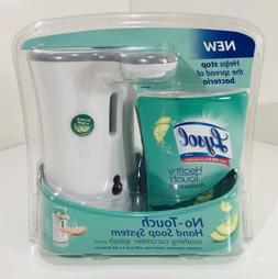 Lysol No Touch Hand Soap System Healthy Touch Cucumber Splas