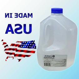 Organic Hand Sanitizer 80% Alcohol Antiseptic Liquid 1 Gallo