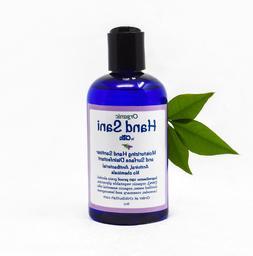 Organic Hand Sanitizer Disinfectant Refill 8oz viral bacteri