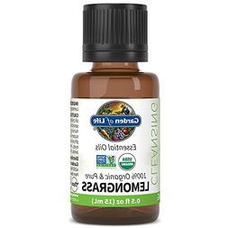 Garden of Life Essential Oil, Lemongrass 0.5 fl oz , 100% US