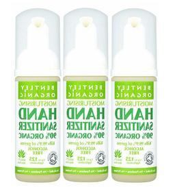 pack of 3 bentley moisturising organic hand