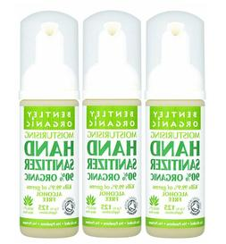 Pack of 3 Bentley Moisturising Organic Hand Sanitizer 50ml K