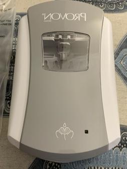 PROVON LTX-7 Touch-Free Foam Soap Dispenser, White/Gray.  Ne