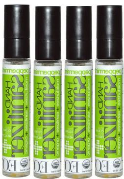 EO's Hand Sanitizer Spray 4 Pack Peppermint 0.33 fl oz