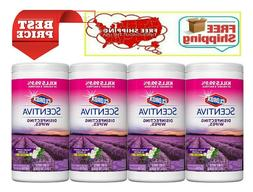 scentiva disinfecting wipes tuscan lavender and jasmine