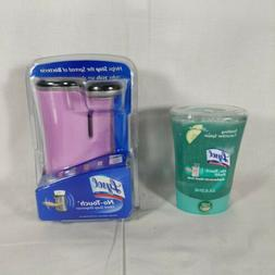Sealed Lysol No-Touch Automatic Hand Soap Dispenser & Refill