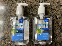 spectrum advanced hand sanitiser 8oz 2 pack