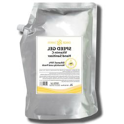Dearderm Speed Gel Vitamin C Hand Sanitizers Refill 67.62fl.