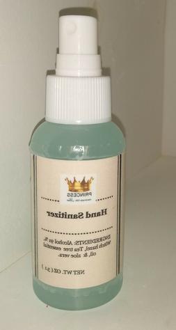 Spray for sanitizing hands