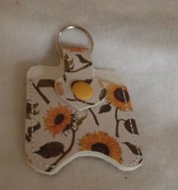 Sunflowers Hand Sanitizer HOLDER Free Shipping