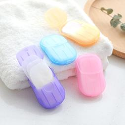 Travel Disposable <font><b>Soap</b></font> Tablets Boxed <fo