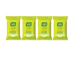 Cleanwell Travel Pack Hand Sanitizer Wipes with Lemon and Or