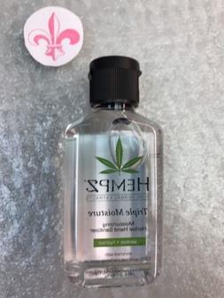 Hempz Triple Moisture Herbal Moisturizing Hand Sanitizer, 2.