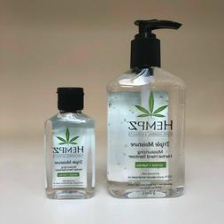 HEMPZ Triple Moisture Moisturizing Herbal Hand Sanitizer 2.2