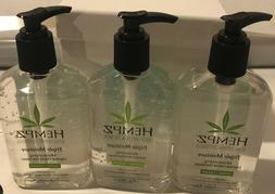 Hempz Triple moisture Sanitizer Trio 8.5oz Each