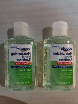 TWO  Bottles Equate Hand Sanitation Travel Size --- 3oz Each