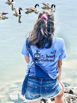 Unisex designs tshirts graphic Tee, sanitize t-shirts,pretty