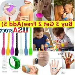US Portable Silicone Soap Bracelet Wristband Hand Dispenser