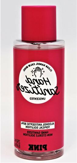 Victoria Secret PINK Hand Sanitizer Spray Unscented 8.4 oz T
