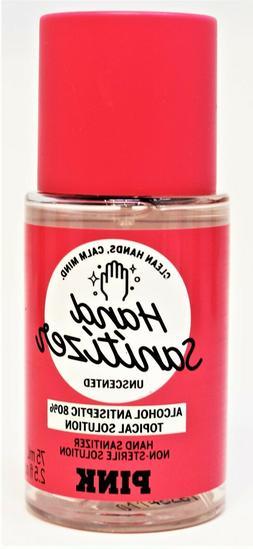 Victoria Secret PINK Hand Sanitizer Spray Unscented 2.5 oz T