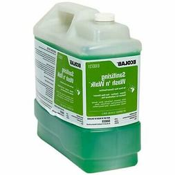 Wash 'n Walk Floor Cleaner Sanitizing Liquid 2.5 gal. Contai