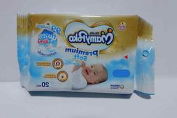 Mamy Poko Wet Wipes Tissue Baby Premium Soft Thick Alcohol-f